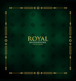 royal golden background design vector image vector image