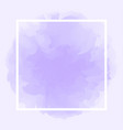 square line white on abstract purple soft vector image vector image