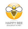 Beehive sweet natural and honey design vector image