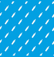 felt tip pen pattern seamless blue vector image