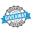giveaway stamp sign seal vector image vector image