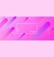 pink creative solutions background with geometric vector image vector image