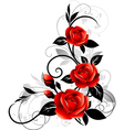 Roses decorative vector | Price: 1 Credit (USD $1)