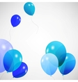 set of colored balloons EPS 10 vector image vector image