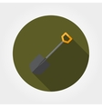 Shovel Icon Flat vector image