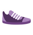 sneaker icon cartoon vector image