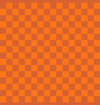 abstract orange color square background vector image