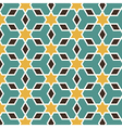 Arabic seamless pattern vector image vector image