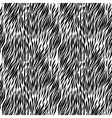 Black and white zebra background vector image vector image