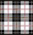 clan macpherson scottish tartan plaid vector image vector image
