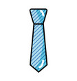 elegant tie to use in special day vector image vector image