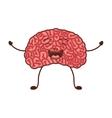 human brain organ vector image vector image