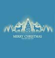 merry christmas amd happy new 2021 year shining vector image