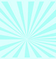 pop art background sunlight blue gradient vector image