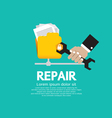 Repair Folder vector image