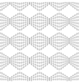 Rhombus chaotic seamless pattern 4310 vector image vector image