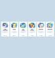 skin care website and mobile app onboarding