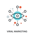 viral marketing vector image vector image