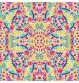 seamless pattern Ethnic geometric print vector image
