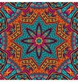 Abstract Tribal ethnic seamless pattern ornamental vector image vector image