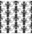 graphic seamless pattern realistic drawn honey vector image vector image