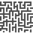 Infinite maze seamless background pattern