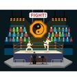 Martial Arts Fight vector image vector image