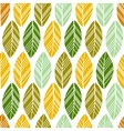 multicolor seamless leaves vector image