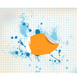 sticker background vector image vector image
