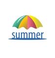 logo summer vector image