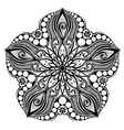 Abstract Sea Starfish vector image