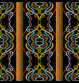 colorful striped tapestry seamless pattern vector image vector image