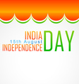 indian flag art vector image vector image