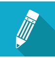 pencil icon Eps10 vector image vector image