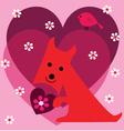 scottie valentine vector image vector image