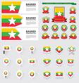 SET myanmar vector image