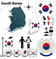 South Korea map