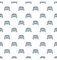 swing pattern seamless vector image