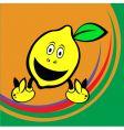 cute lemon vector image