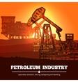 Petroleum Industry Design Concept vector image
