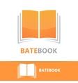book logo concept vector image