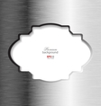 Abstract brushed metal elegant background vector image vector image