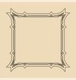art deco frame artwork graphic pattern culture vector image vector image