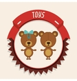 children toys design vector image vector image