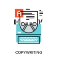 copywriting vector image