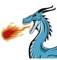 Dragon animal cartoon design vector image vector image