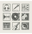 Set of music instruments vector | Price: 1 Credit (USD $1)
