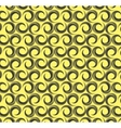 Geometric design seamless pattern in retro style vector image