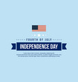 banner independence day style collection vector image vector image