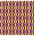 pattern geometric waves color vector image vector image